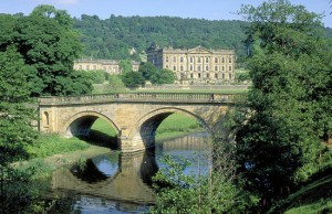 Chatsworth House, Derbyshire (see photo credit below)