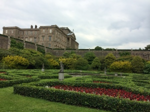 Lyme Park from the walled garden